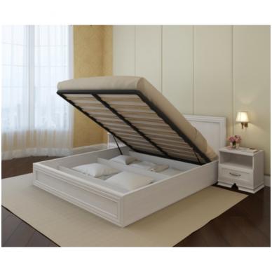 Miegamojo lova STEFANI 1600 (be čiužinio) 2