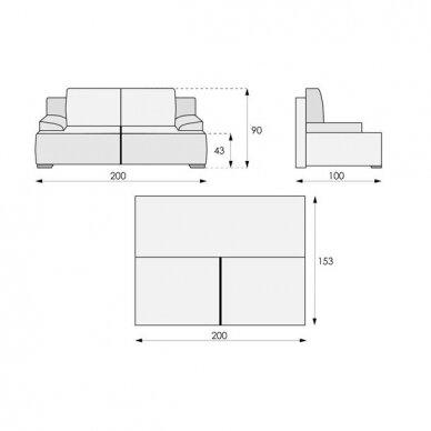 Sofa-lova CITY 14