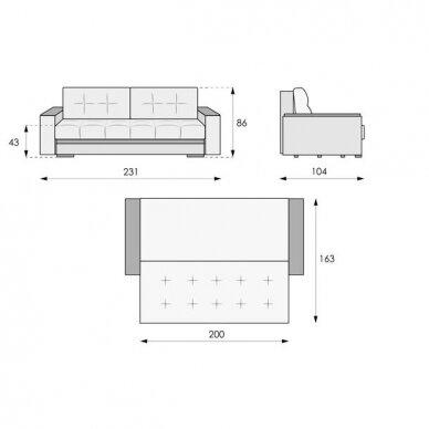 Sofa-lova NIKOLETTI 10