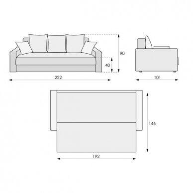 Sofa-lova SANTA (mod.1) 11