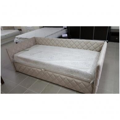 Viengulė lova ELIZA SOFT 900 (su čiužiniu) 4