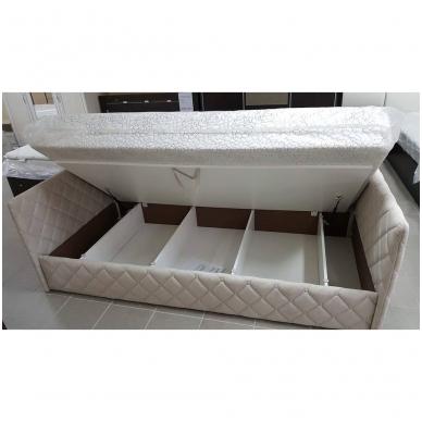 Viengulė lova ELIZA SOFT 900 (su čiužiniu) 5